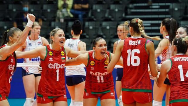 България триумфира в Европейската златна лига
