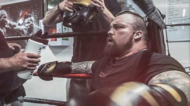 Еди Хол, тренировката му за крака с 1000 килограма и припадането