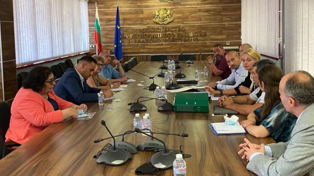 В МРРБ се проведе работна среща по проекта за изграждане на Национална детска болница