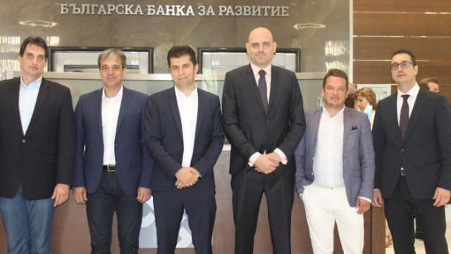 Министър Петков представи новите членове на Управителния и Надзорния съвет на ББР
