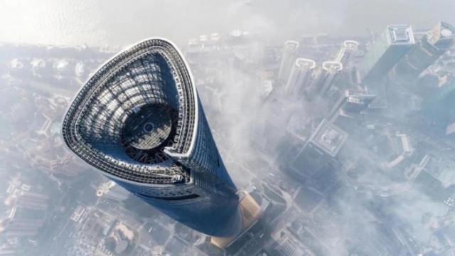 Шанхай, J Hotel, Shanghai Tower и това ли е най-високият хотел с ресторант в света