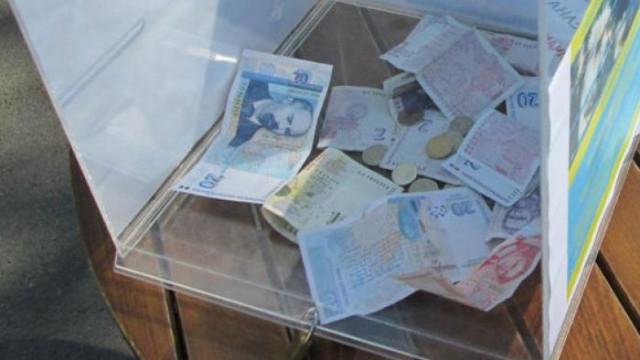 Откраднаха кутия за дарения от хранителен магазин във Варна