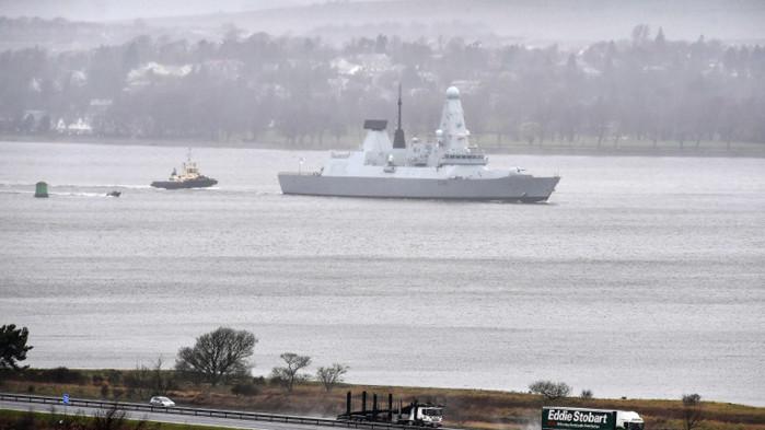 Погранични патрулни кораби на Русия са открили предупредителен огън, за