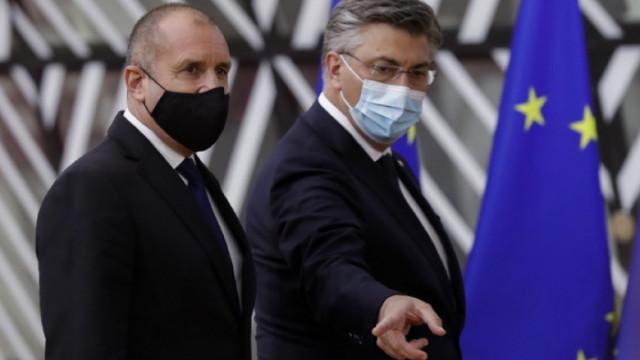 Радев заминава за Брюксел, ще участва в заседанието на Европейския съвет
