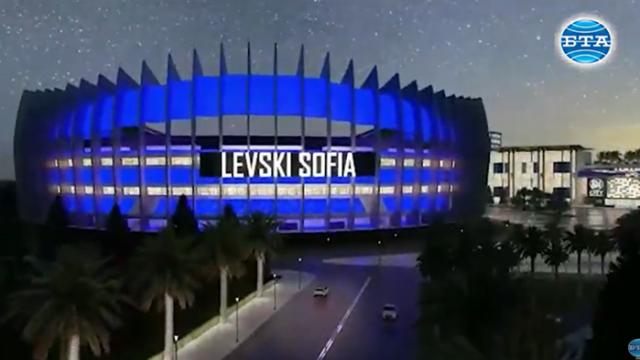 Джоузеф Диксън показа как ще изглежда новият стадион на Левски