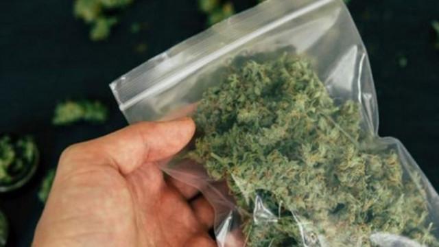 Задържа за 72 часа мъж и жена, държали с цел разпространение 80 грама марихуана