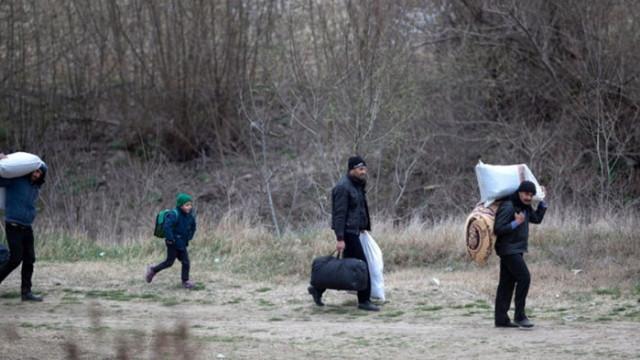 """Заловиха нелегални мигранти на бул. """"Цариградско шосе"""""""