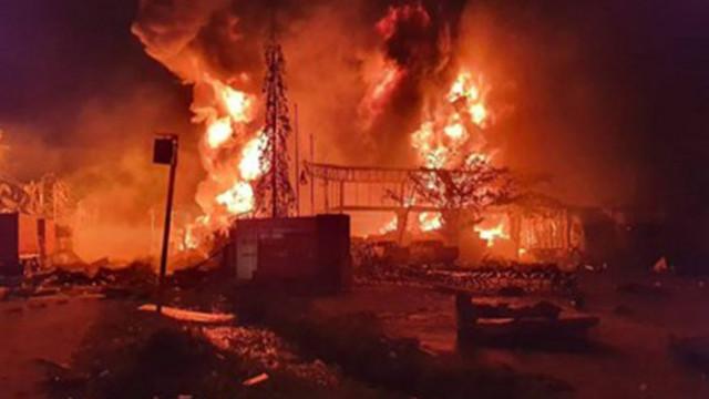 Поне 1 загинал при експлозия в тайландски завод, хиляди бяха евакуирани (видео)