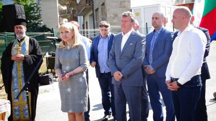 Аврамова в Банско: Асфалтът не се яде, но инвеститорите искат инфраструктура