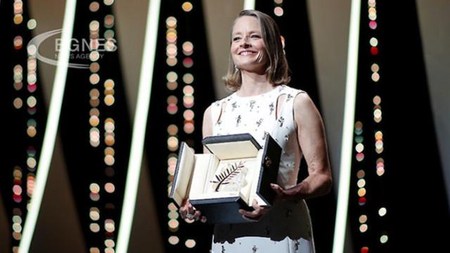"""Джоди Фостър със """"Златна палма"""" на кинофестивала в Кан"""