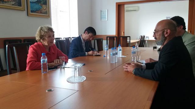Областният управител се срещна с посланика на Кралство Нидерландия у нас