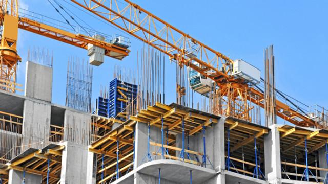 С 4,6% се е увеличила строителната продукция за година