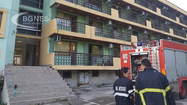 Пожар в дом за възрастни край Варна, има загинал