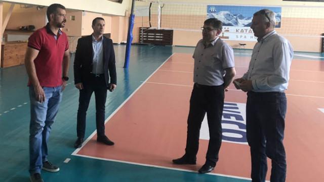 Ръководството на Национална волейболна лига проведе среща с кмета на Разлог Красимир Герчев