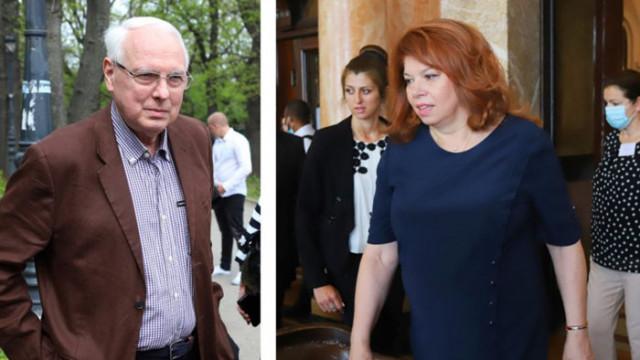 Енчев критикува Йотова, че ревност или някакъв страх не дава служебният кабинет да става редовен