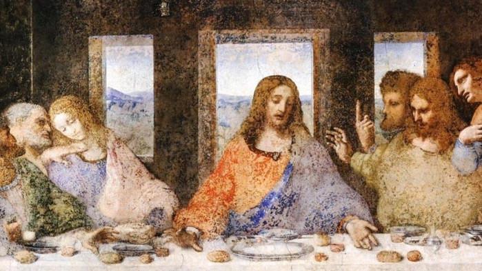 Катедрала поставя картина на Тайната вечеря с тъмнокож Иисус