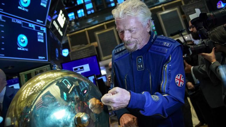Ричард Брансън, Virgin Galactic и детската му мечта да построи хотел в Космоса
