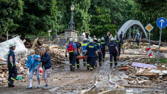 В Нидерландия местят 10 000 души заради опасност от наводнения
