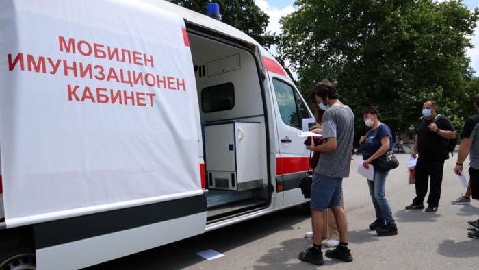 В събота и неделя мобилен имунизационен кабинет отваря на входа на Морската градина във Варна