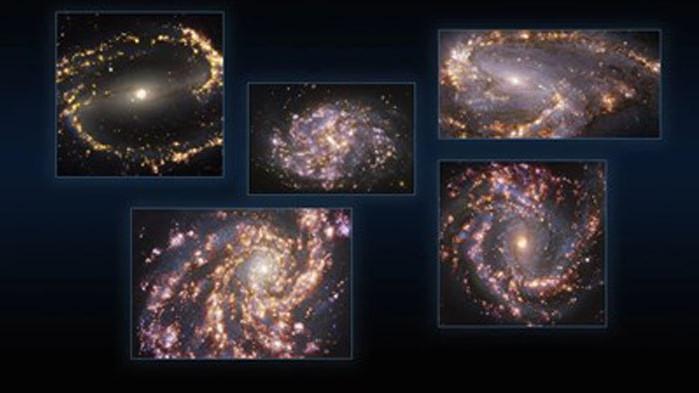 """Астрономи наблюдаваха """"звездни люпилни"""" (Видео)"""