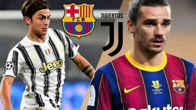 Барселона и Ювентус си разменят Гризман и Дибала