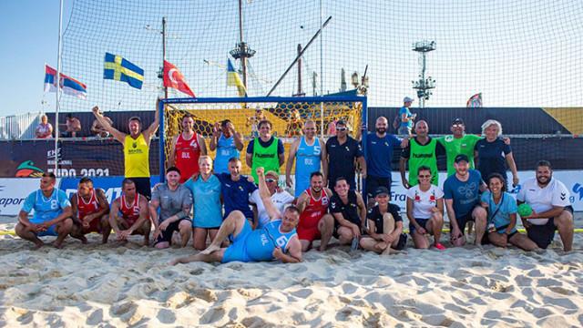Росен Добрев: Европейското по плажен хандбал ще рекламира Варна и България още две години