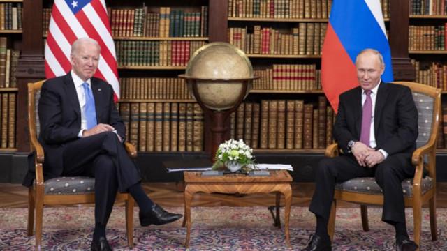 Байдън осъзнал, че е президент на САЩ едва при срещата с Путин