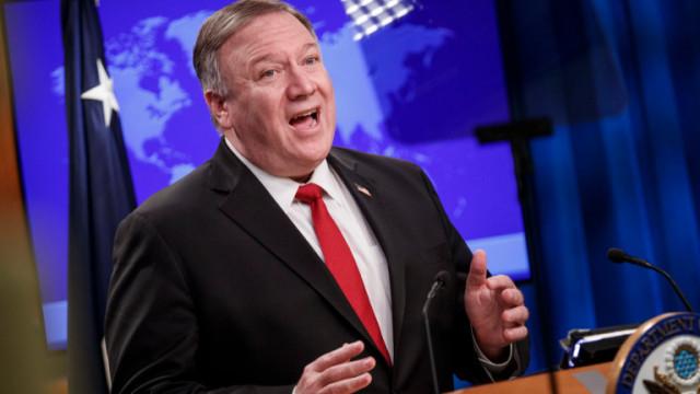 Помпео настоява Германия да възприеме Русия като заплаха