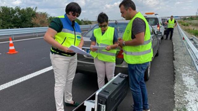 """АПИ: Маркировката в ремонтирания участък на """"Тракия"""" гарантира безопасността"""