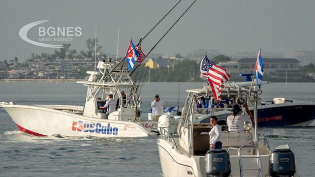 Катери се насочиха към Куба в подкрепа на протестиращите