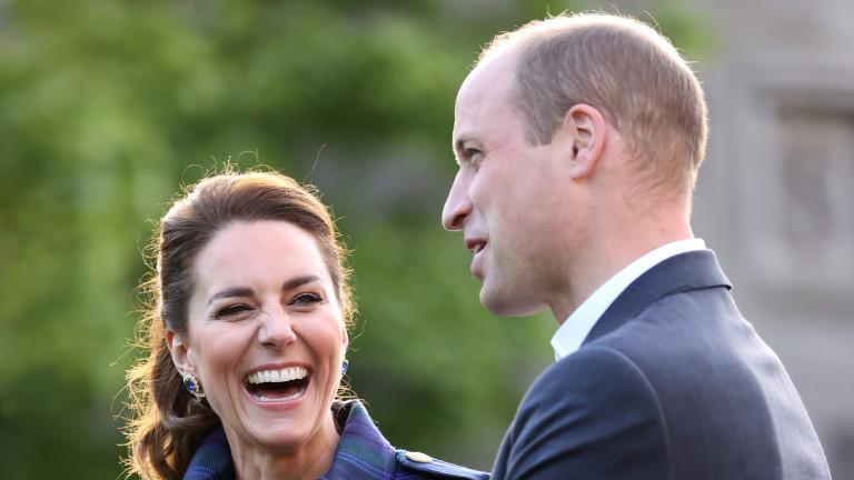 Принц Уилям и Кейт Мидълтън с рекорд в социалните мрежи