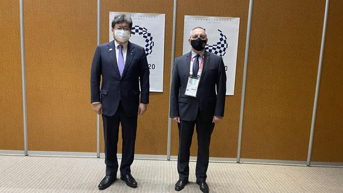 Министър Кузманов на среща с японските си колеги в Токио