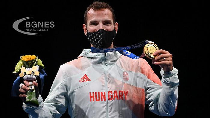 Силаги спечели трето поредно олимпийско злато на сабя