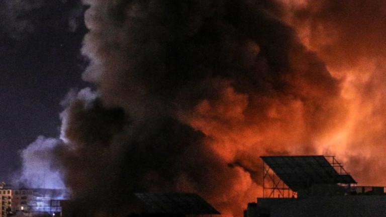 """Израел бомбардира база на """"Хамас"""" в отговор на палестинска атака"""