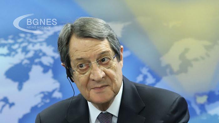 Анастасиадис няма да се кандидатира за президент на Кипър