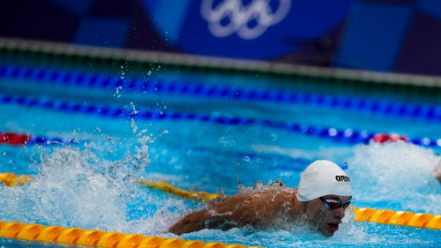Антъни Иванов се провали на 200 метра бътърфлай в Токио