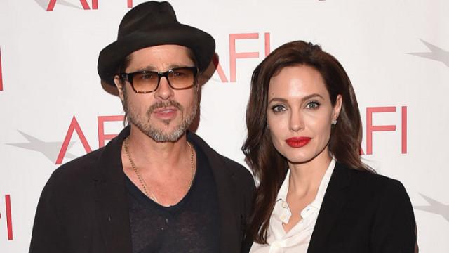 Анджелина Джоли, Брад Пит, бракоразводното дело и отстраняването на съдия Удъркърк