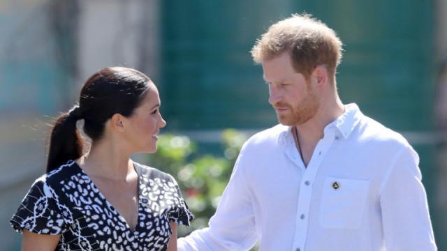 Изнесоха от Уиндзор всички вещи на принц Хари и Меган Маркъл