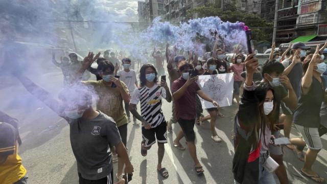 Хунтата в Мианмар касира вота от 2020 година