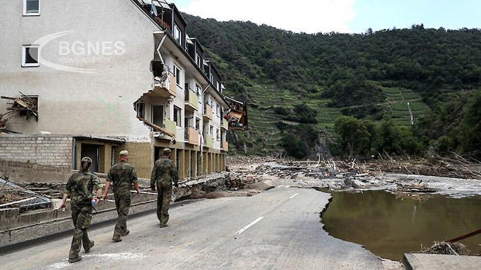 Щети за над половин милиард евро от наводненията в Германия