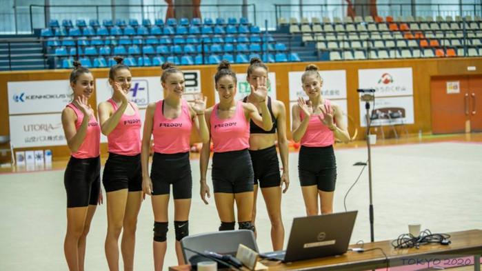 Българските гимнастички се срещнаха онлайн със своите фенове