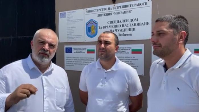 ГЕРБ: Рашков е пряко отговорен за увеличения мигрантски поток през последния един месец