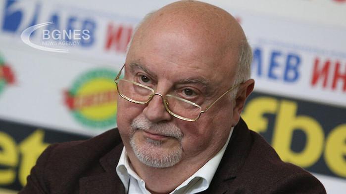 Баждеков: Левски води преговори за нов генерален спонсор