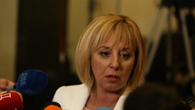 Мая Манолова: Няма да подкрепим кабинет с дългата ръка на ГЕРБ и ДПС