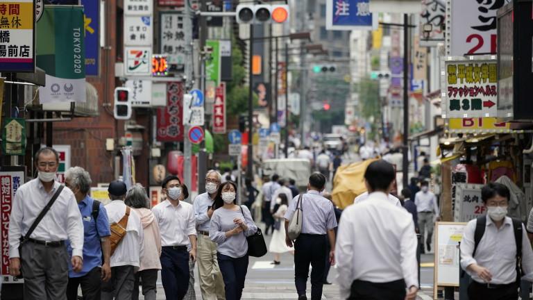 Токио за пръв път с над 3000 нови случаи на COVID-19