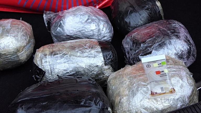 Задържаха чужденец с 46,848 кг. хероин на ГКПП