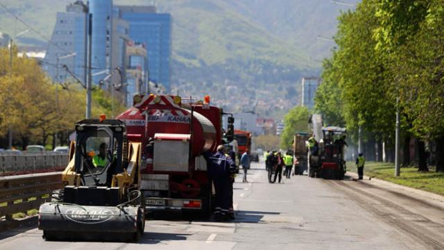 """Днес започва рехабилитацията на нов участък от бул. """"България"""""""