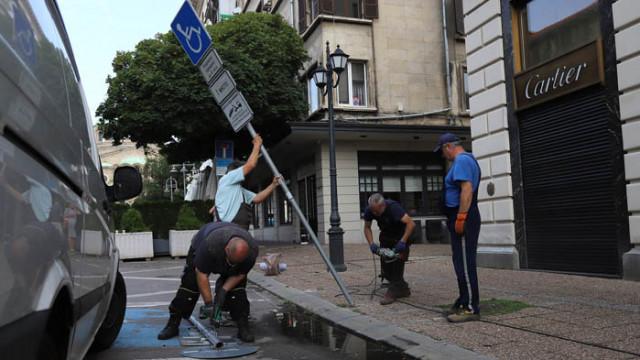 Увеличават се пешеходните зони в историческия център на София
