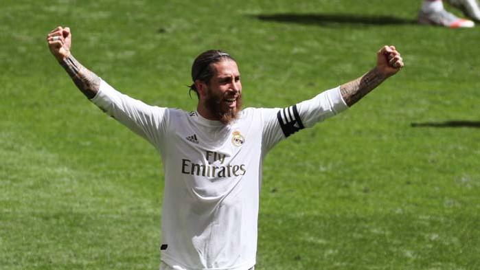 Серхио Рамос доближи Реал Мадрид до титлата