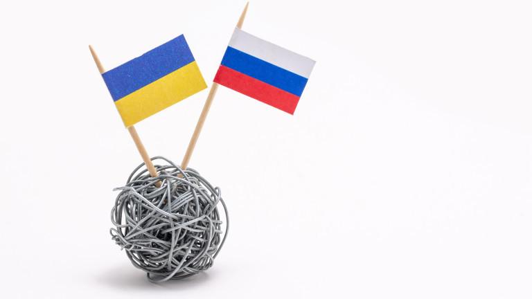 """Русия обяви за """"абсолютна глупост"""" подготовката на Украйна за война"""